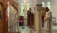 Κυριακή Θ´Λουκά Στο Επισκοπικό Παρεκκλήσιο Των Νεοφανών Αγίων Μαρτύρων Ραφαήλ, Νικολάου Και Ειρήνης