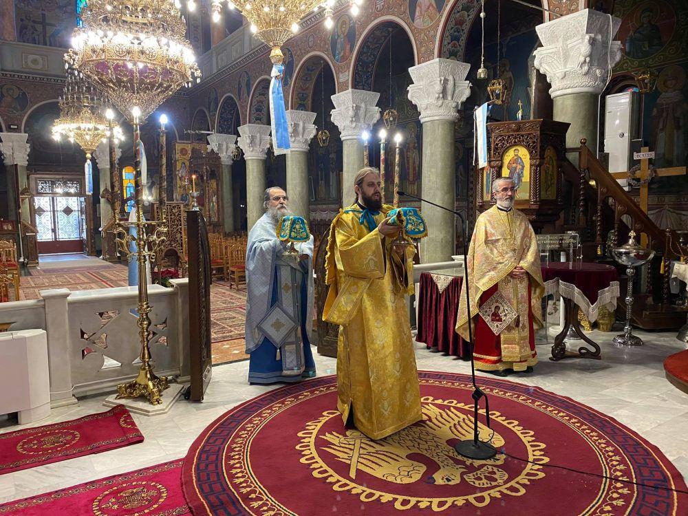 26Dec2020 11 - Λάρισα: Χριστούγεννα και Σύναξη της Υπεραγίας Θεοτόκου