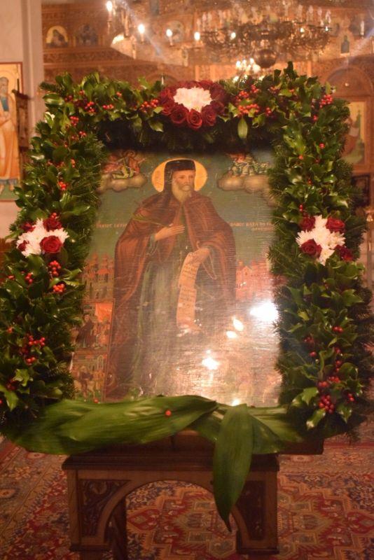 AgGedeon 2020 1 - Tιμήθηκε ο Άγιος Γεδεών στον Τύρναβο (φωτο)