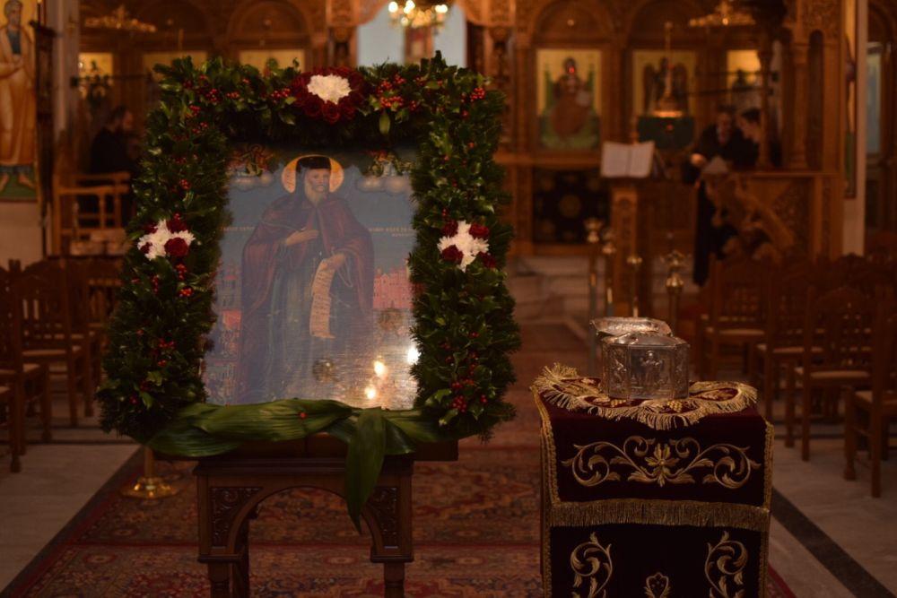 AgGedeon 2020 7 - Tιμήθηκε ο Άγιος Γεδεών στον Τύρναβο (φωτο)