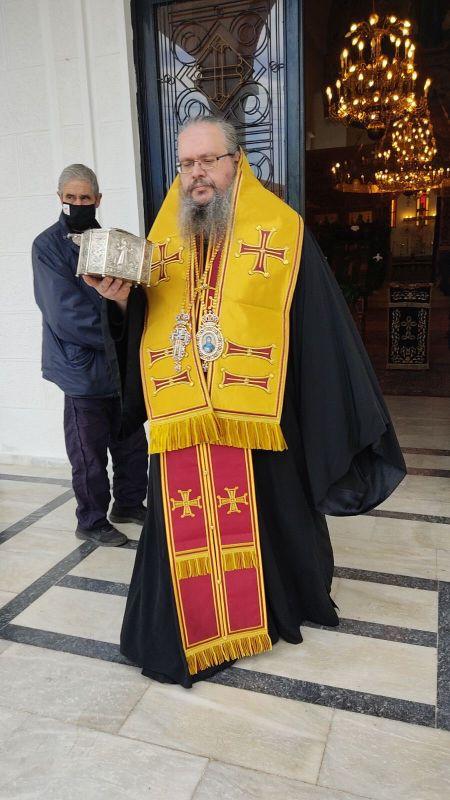 AgGedeon 2020 9 - Tιμήθηκε ο Άγιος Γεδεών στον Τύρναβο (φωτο)