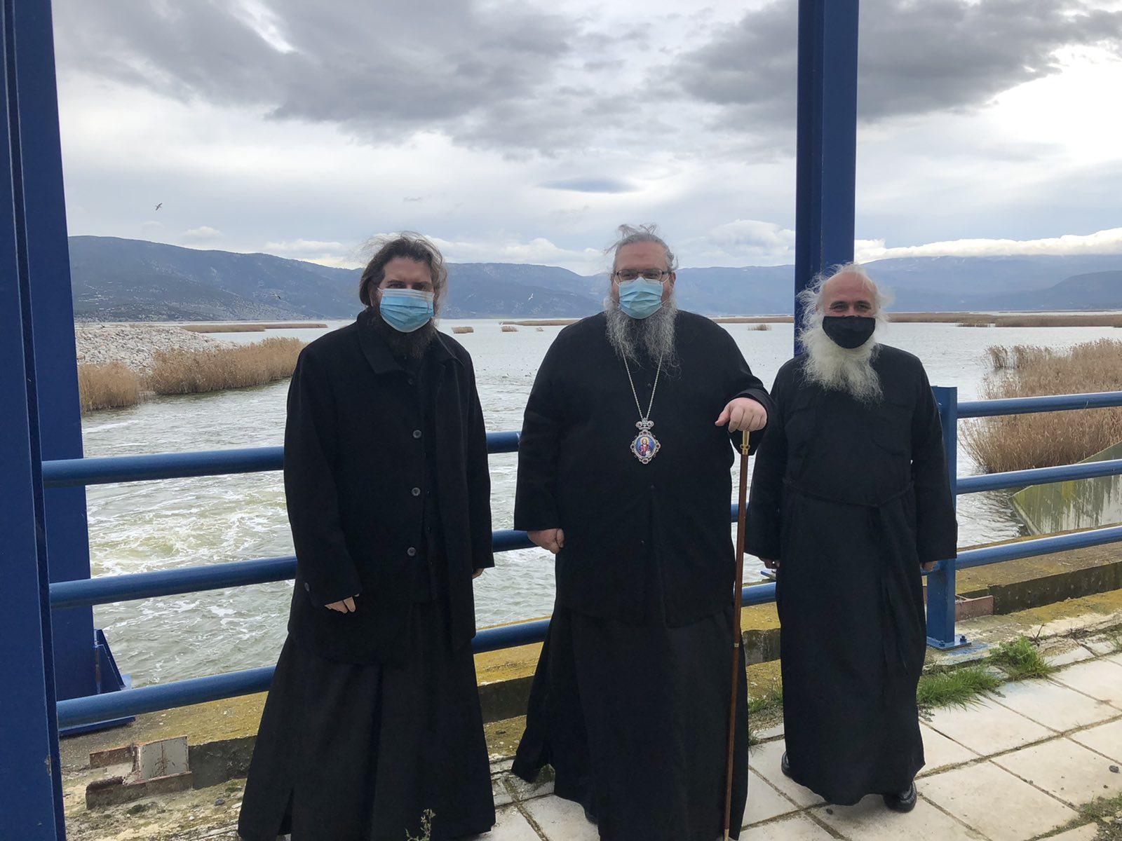 episkepsi limni karla 1 - Στη Λίμνη Κάρλα ο Σεβασμιώτατος