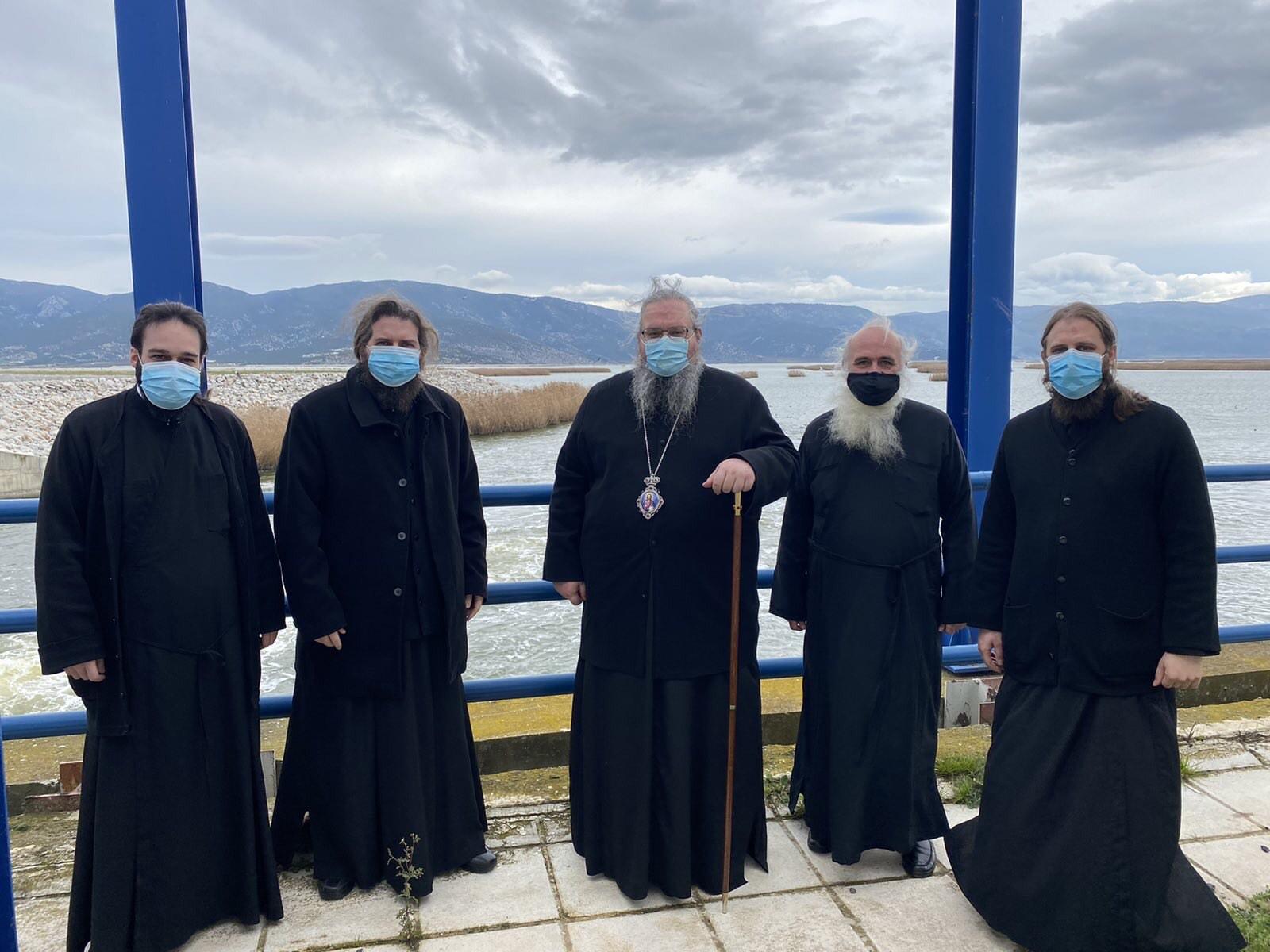 episkepsi limni karla 2 - Στη Λίμνη Κάρλα ο Σεβασμιώτατος