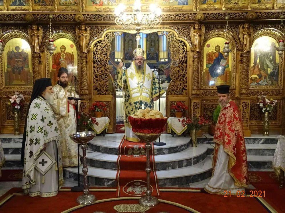 telonou farisaiou 2021 6 - Ο Σεβασμιώτατος στον Αγ. Γεώργιο την Κυριακή του Τριωδίου.
