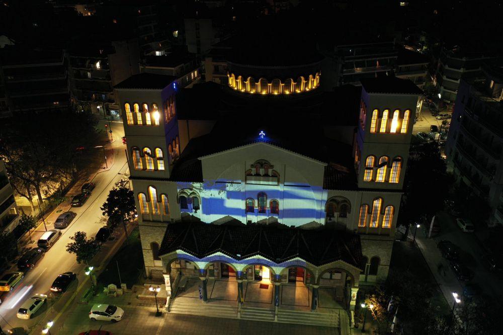 AgNikolaos 25Martiou 2021 10 - Λάρισα: Τιμή και Δόξα στους Αθάνατους Προγόνους μας