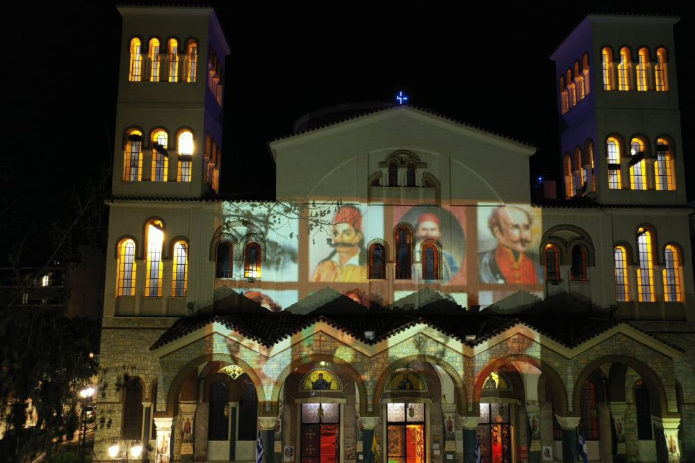 AgNikolaos 25Martiou 2021 15 - Λάρισα: Τιμή και Δόξα στους Αθάνατους Προγόνους μας