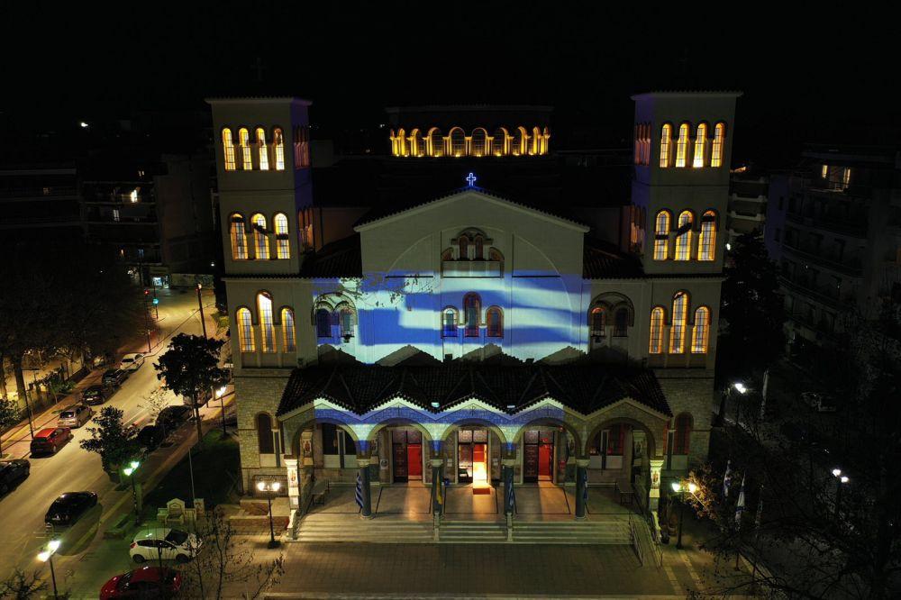 AgNikolaos 25Martiou 2021 18 - Λάρισα: Τιμή και Δόξα στους Αθάνατους Προγόνους μας