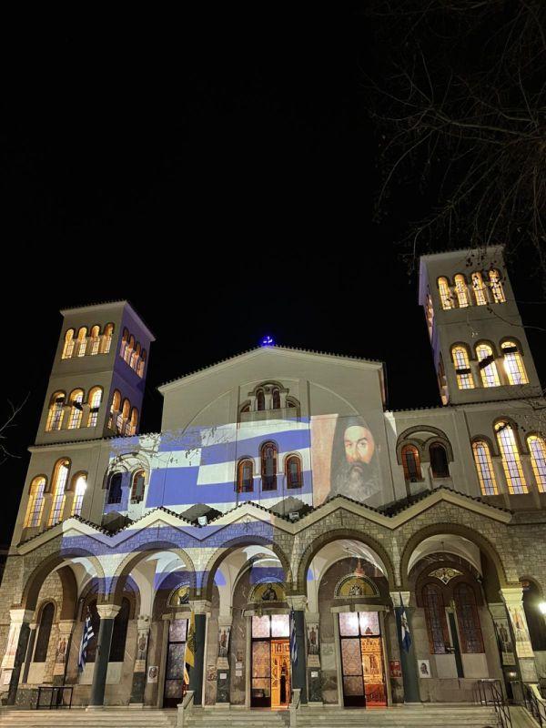AgNikolaos 25Martiou 2021 20 - Λάρισα: Τιμή και Δόξα στους Αθάνατους Προγόνους μας