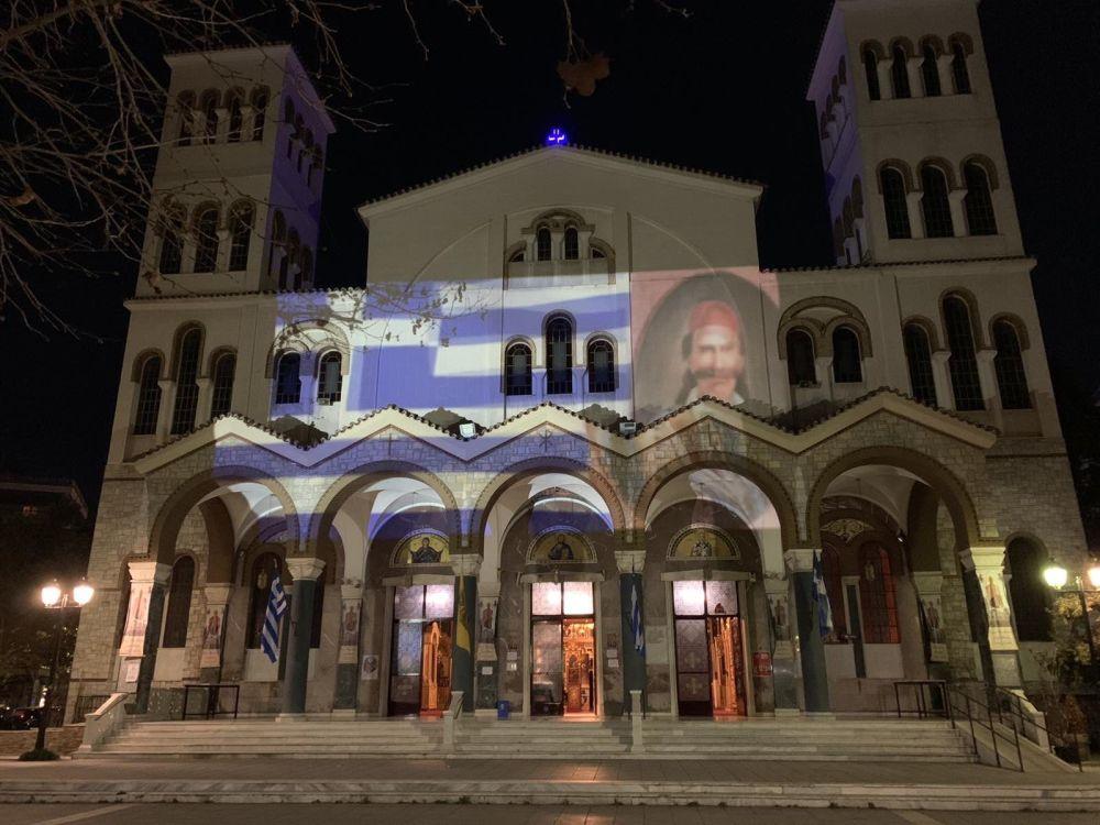 AgNikolaos 25Martiou 2021 30 - Λάρισα: Τιμή και Δόξα στους Αθάνατους Προγόνους μας