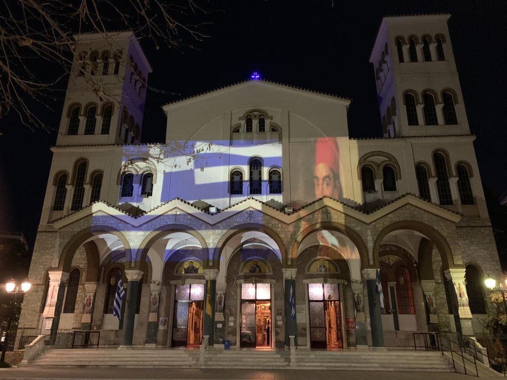 AgNikolaos 25Martiou 2021 32 - Λάρισα: Τιμή και Δόξα στους Αθάνατους Προγόνους μας