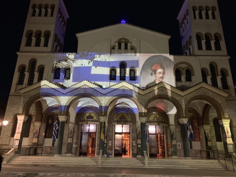 AgNikolaos 25Martiou 2021 36 - Λάρισα: Τιμή και Δόξα στους Αθάνατους Προγόνους μας