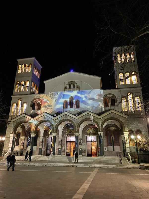 AgNikolaos 25Martiou 2021 7 - Λάρισα: Τιμή και Δόξα στους Αθάνατους Προγόνους μας