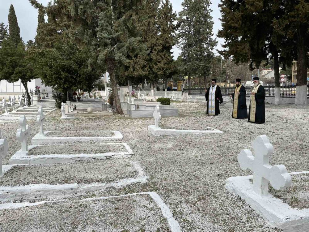 psixosavvato strkoimitirio 2021 2 - Λάρισα: Τρισάγιο στο στρατιωτικό Κοιμητήριο