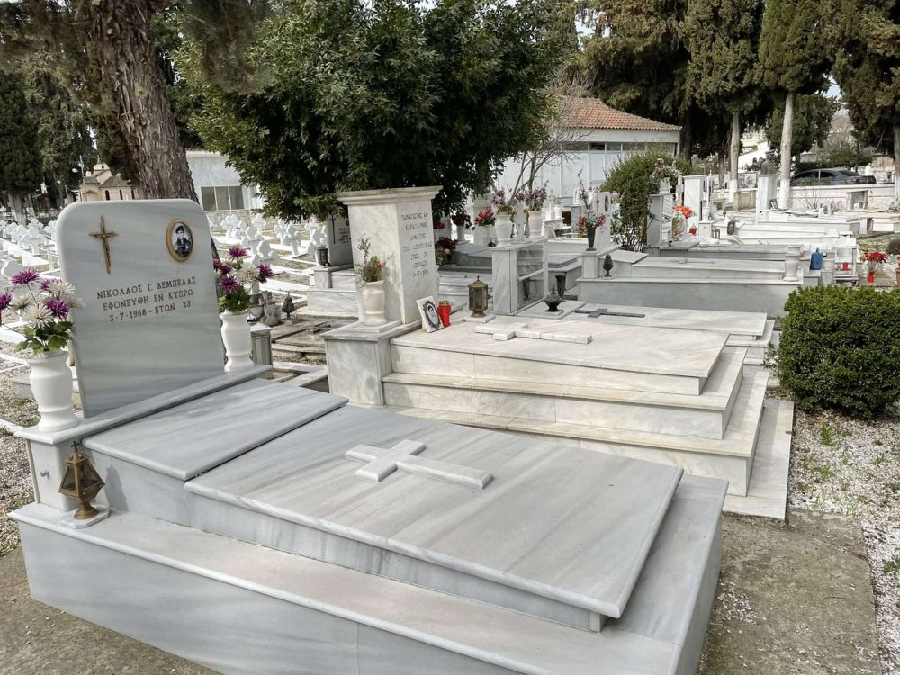 psixosavvato strkoimitirio 2021 3 - Λάρισα: Τρισάγιο στο στρατιωτικό Κοιμητήριο