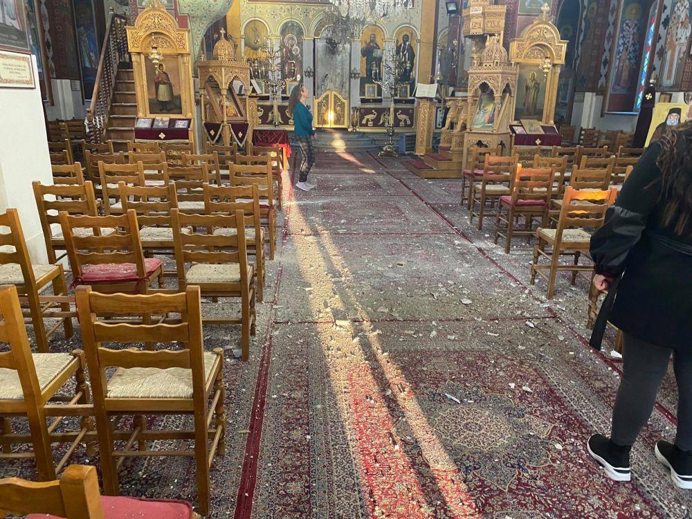 seismos ampelonas 2021 1 - Μεγάλες καταστροφές σε εκκλησίες (φωτο)