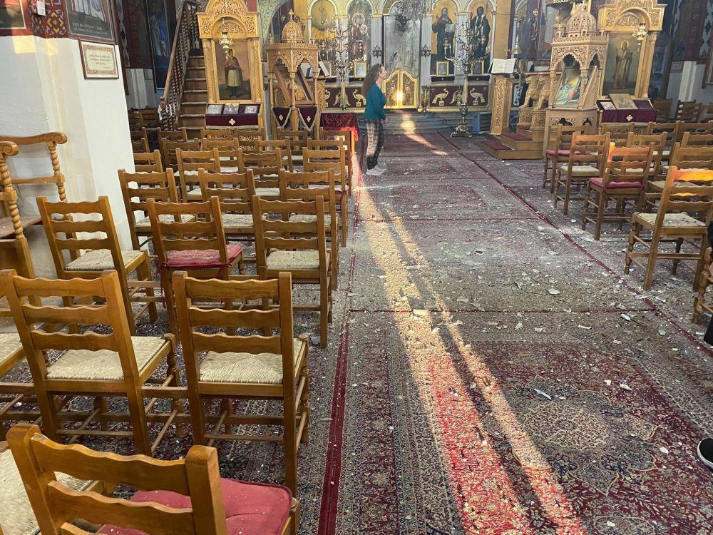 seismos ampelonas 2021 4 - Μεγάλες καταστροφές σε εκκλησίες (φωτο)