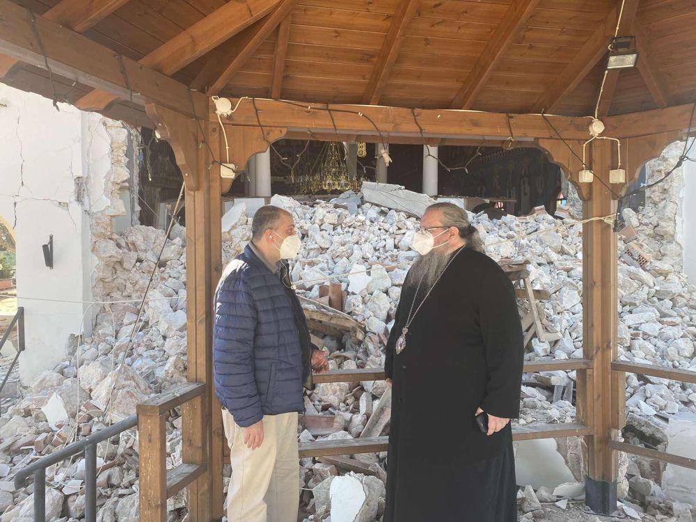 seismos koutsoxero 2021 1 - Μεγάλες καταστροφές σε εκκλησίες (φωτο)