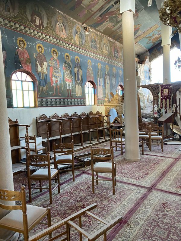 seismos koutsoxero 2021 13 - Μεγάλες καταστροφές σε εκκλησίες (φωτο)