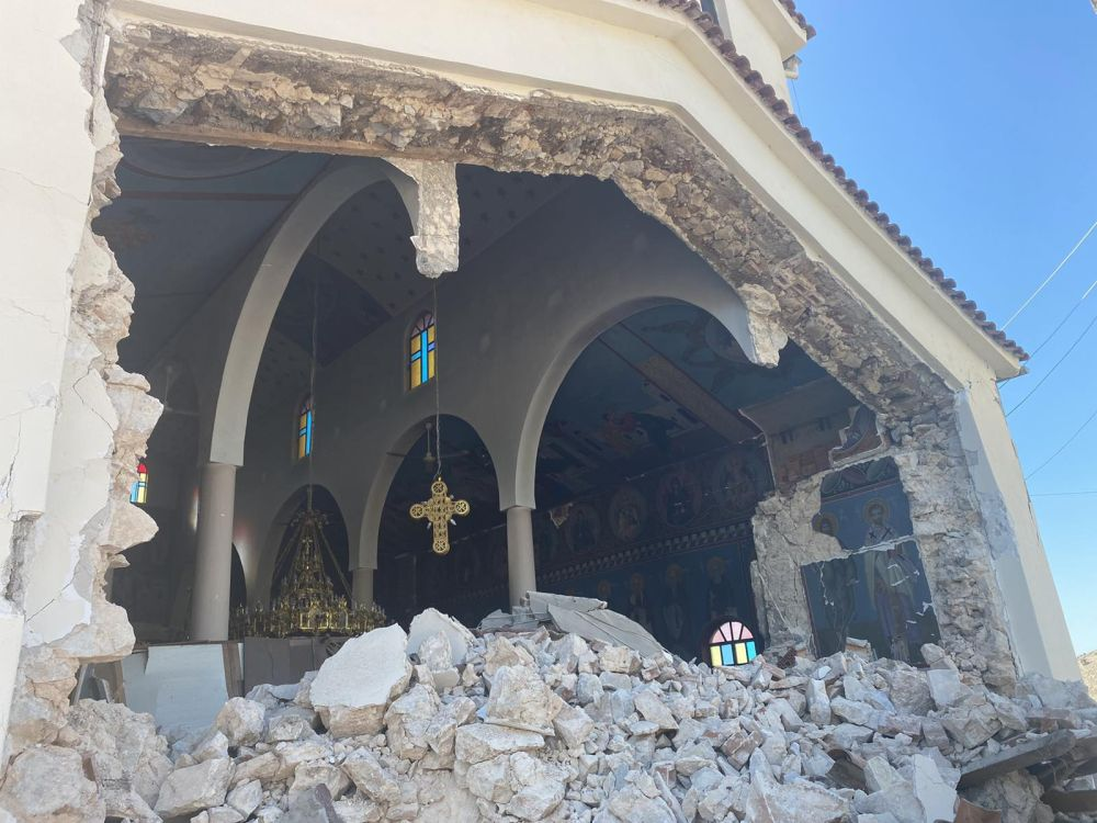 seismos koutsoxero 2021 4 - Μεγάλες καταστροφές σε εκκλησίες (φωτο)