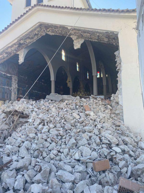 seismos koutsoxero 2021 5 - Μεγάλες καταστροφές σε εκκλησίες (φωτο)