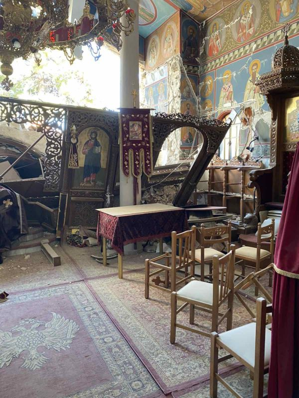 seismos koutsoxero 2021 6 - Μεγάλες καταστροφές σε εκκλησίες (φωτο)