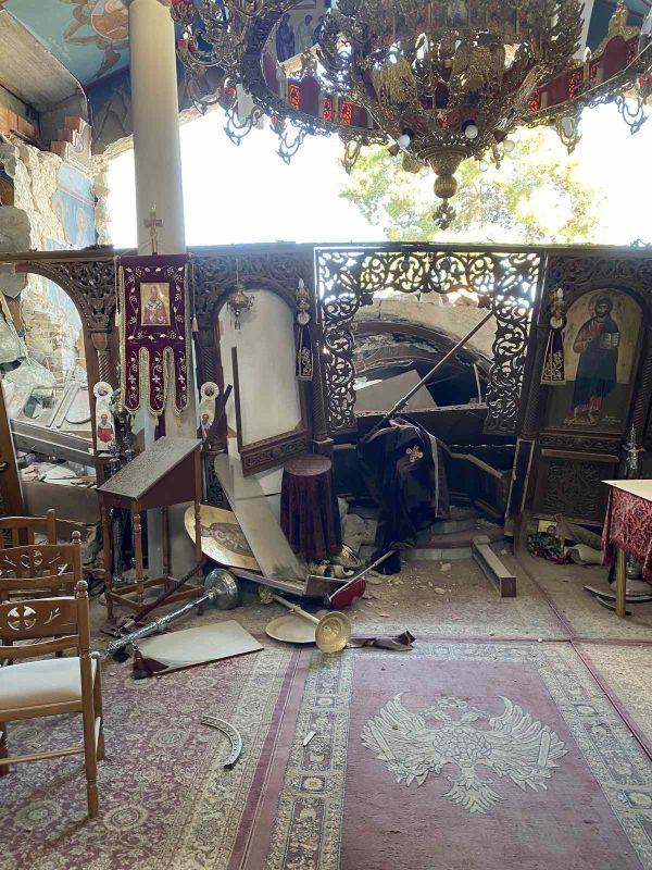 seismos koutsoxero 2021 7 - Μεγάλες καταστροφές σε εκκλησίες (φωτο)