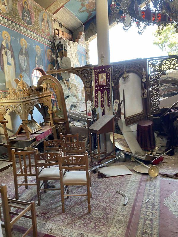 seismos koutsoxero 2021 8 - Μεγάλες καταστροφές σε εκκλησίες (φωτο)