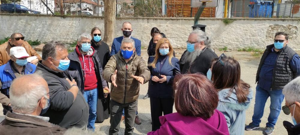 avgerinopoulou kafantari 5 - Ενδιαφέρον για τους Σεισμόπληκτους…