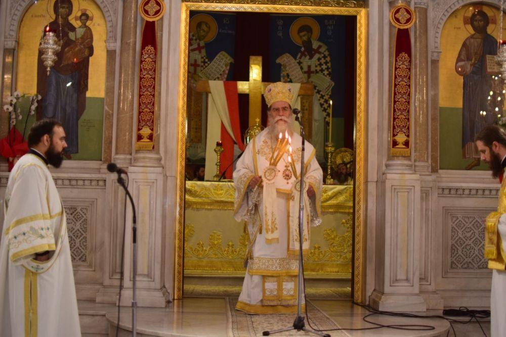 AgAxilliou 2021 13 - Με λαμπρότητα εορτάστηκε ο Άγιος Αχίλλιος, Αρχιεπίσκοπος Λαρίσης