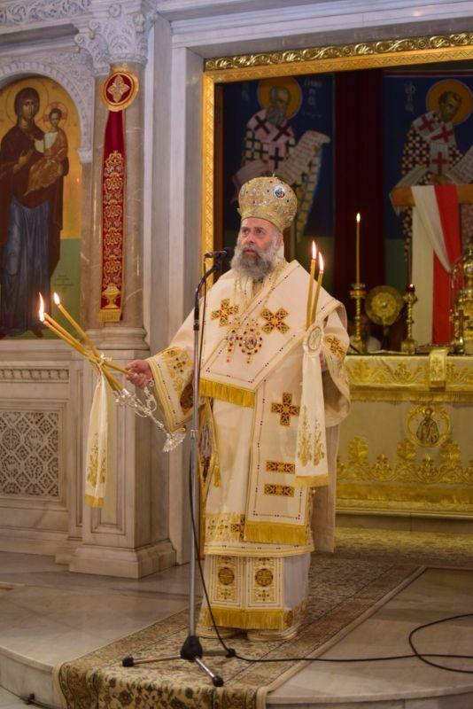 AgAxilliou 2021 14 - Με λαμπρότητα εορτάστηκε ο Άγιος Αχίλλιος, Αρχιεπίσκοπος Λαρίσης