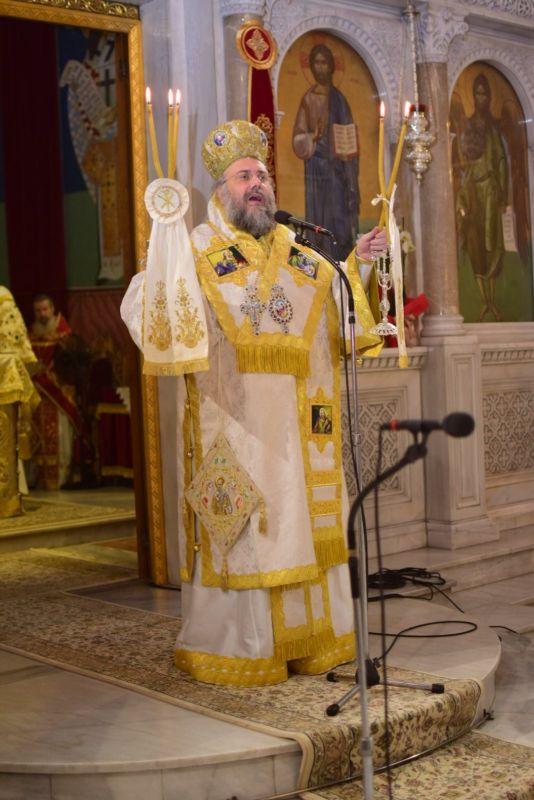 AgAxilliou 2021 15 - Με λαμπρότητα εορτάστηκε ο Άγιος Αχίλλιος, Αρχιεπίσκοπος Λαρίσης