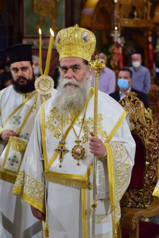 AgAxilliou 2021 2 - Με λαμπρότητα εορτάστηκε ο Άγιος Αχίλλιος, Αρχιεπίσκοπος Λαρίσης