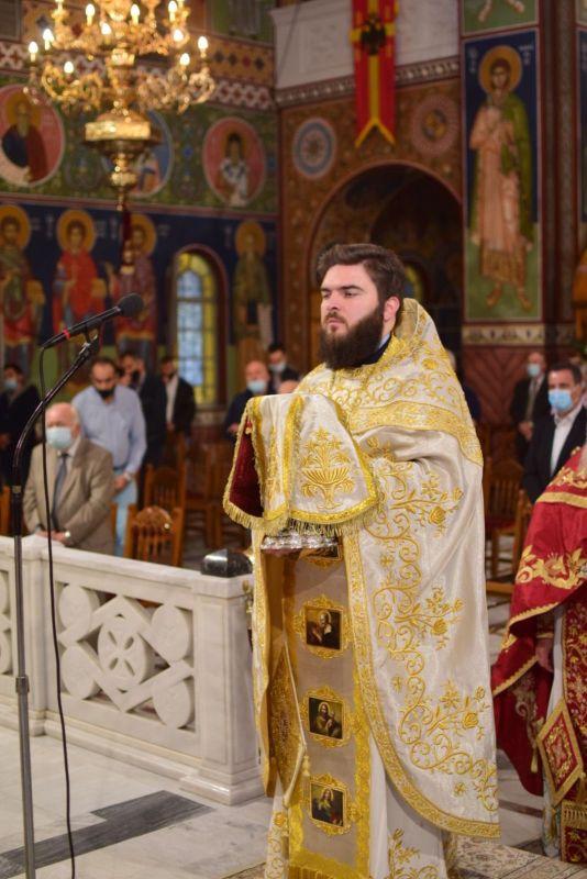AgAxilliou 2021 23 - Με λαμπρότητα εορτάστηκε ο Άγιος Αχίλλιος, Αρχιεπίσκοπος Λαρίσης