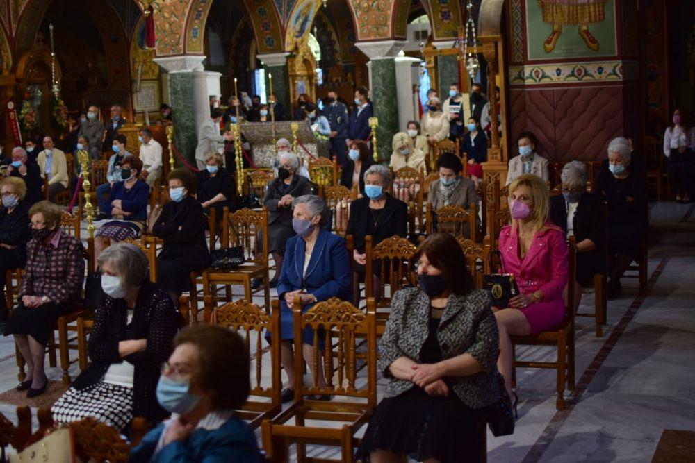 AgAxilliou 2021 24 - Με λαμπρότητα εορτάστηκε ο Άγιος Αχίλλιος, Αρχιεπίσκοπος Λαρίσης