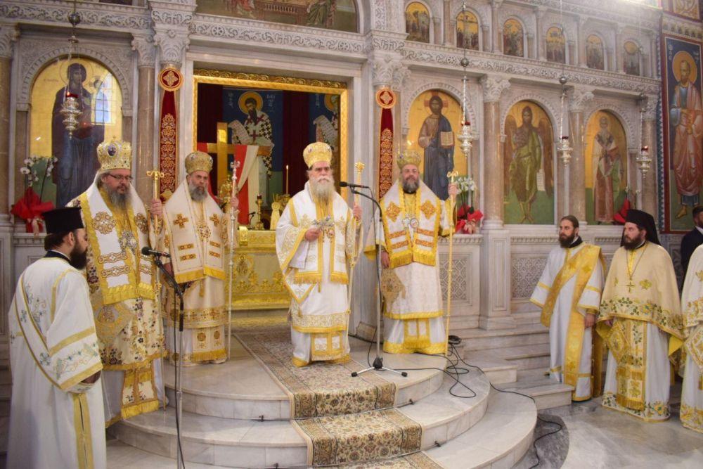 AgAxilliou 2021 28 - Με λαμπρότητα εορτάστηκε ο Άγιος Αχίλλιος, Αρχιεπίσκοπος Λαρίσης