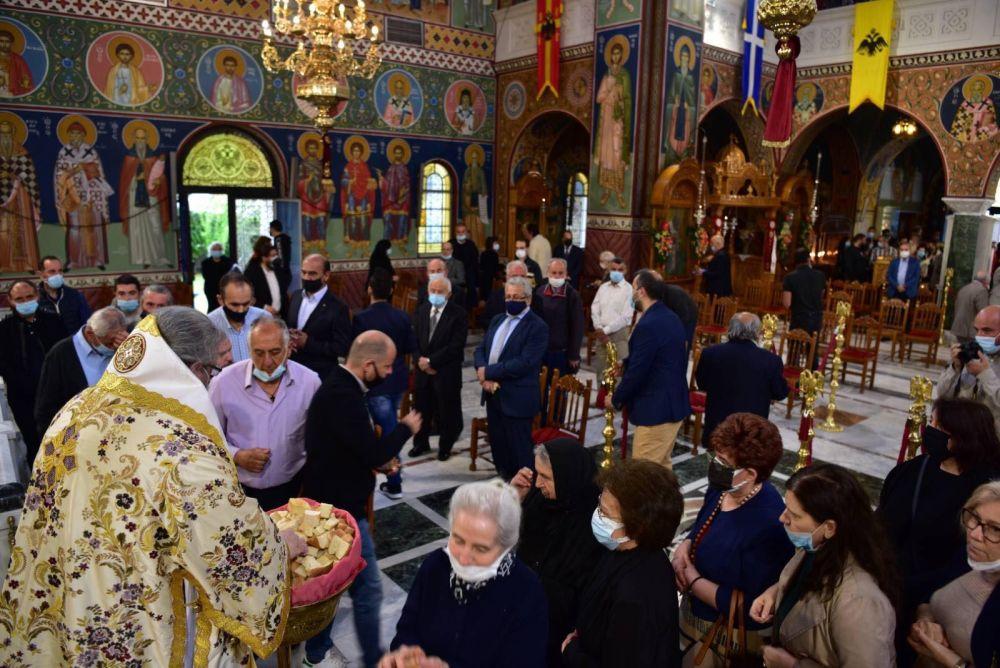 AgAxilliou 2021 30 - Με λαμπρότητα εορτάστηκε ο Άγιος Αχίλλιος, Αρχιεπίσκοπος Λαρίσης