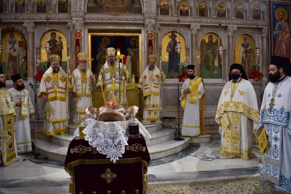 AgAxilliou 2021 31 - Με λαμπρότητα εορτάστηκε ο Άγιος Αχίλλιος, Αρχιεπίσκοπος Λαρίσης