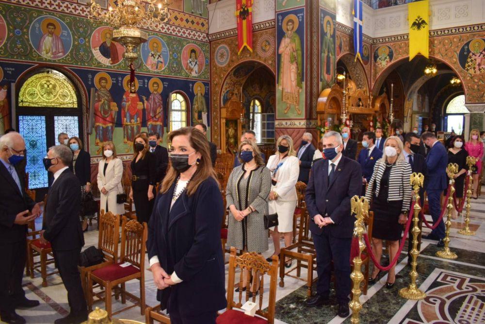 AgAxilliou 2021 33 - Με λαμπρότητα εορτάστηκε ο Άγιος Αχίλλιος, Αρχιεπίσκοπος Λαρίσης