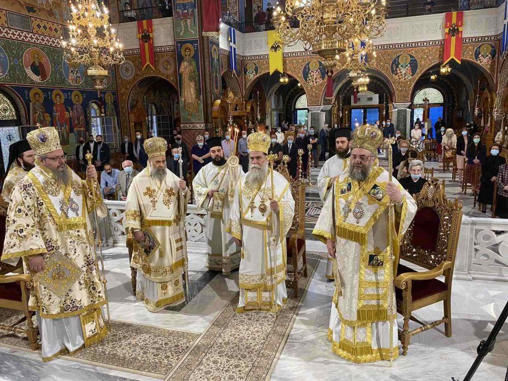 AgAxilliou 2021 6 - Με λαμπρότητα εορτάστηκε ο Άγιος Αχίλλιος, Αρχιεπίσκοπος Λαρίσης