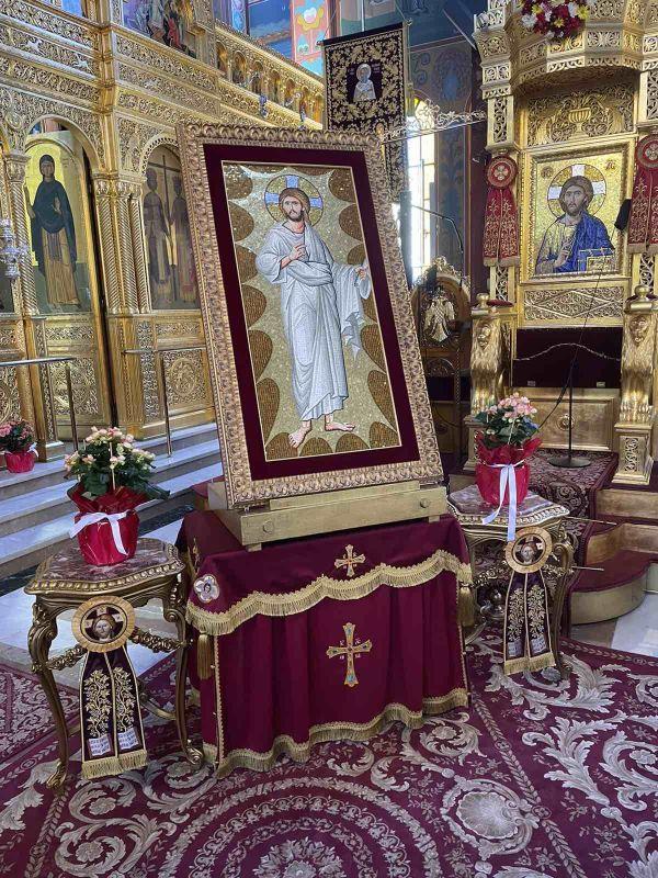 AgioFos 2021 9 - Λάρισα: Ήρθε το Άγιο Φως στον Άγιο Νικόλαο