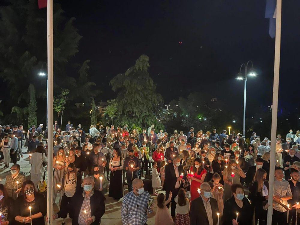 Anastasi 2021 7 1 - Η Ανάσταση στον Ι.Μ.Ν του Αγ. Αχιλλίου Λάρισας (φωτο)