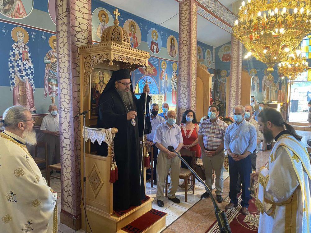 esp apostolwn kallipeuki 2021 2 - Ο Σεβασμιώτατος στον Ι.Ν των Αγίων Δώδεκα Αποστόλων Καλλιπεύκης