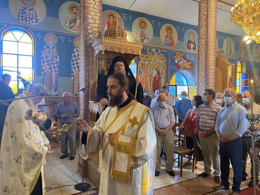 esp apostolwn kallipeuki 2021 3 - Ο Σεβασμιώτατος στον Ι.Ν των Αγίων Δώδεκα Αποστόλων Καλλιπεύκης