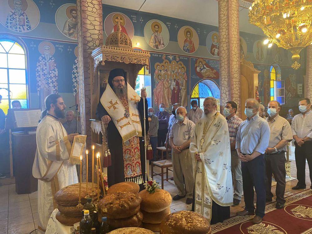 esp apostolwn kallipeuki 2021 4 - Ο Σεβασμιώτατος στον Ι.Ν των Αγίων Δώδεκα Αποστόλων Καλλιπεύκης