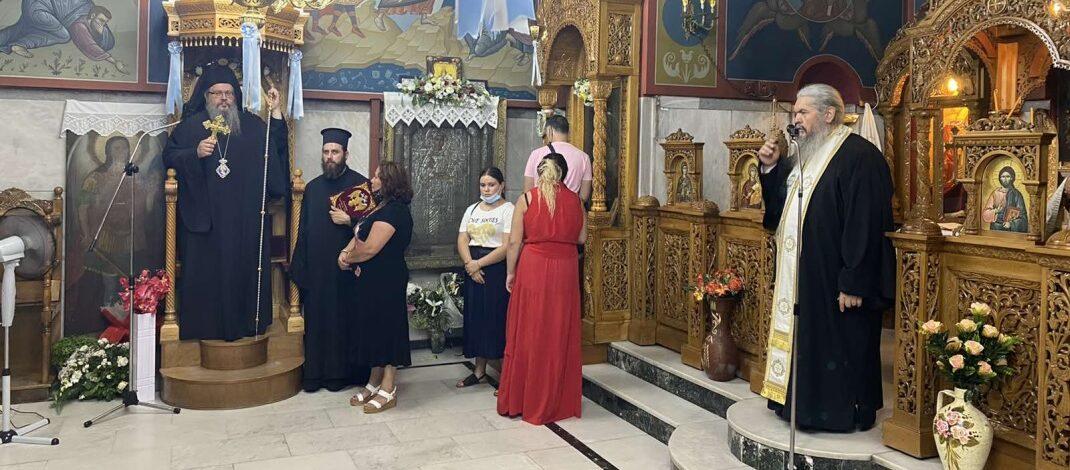 Στο Ιερό Προσκύνημα των Τεμπών και στη Σπηλιά ο Σεβασμιώτατος