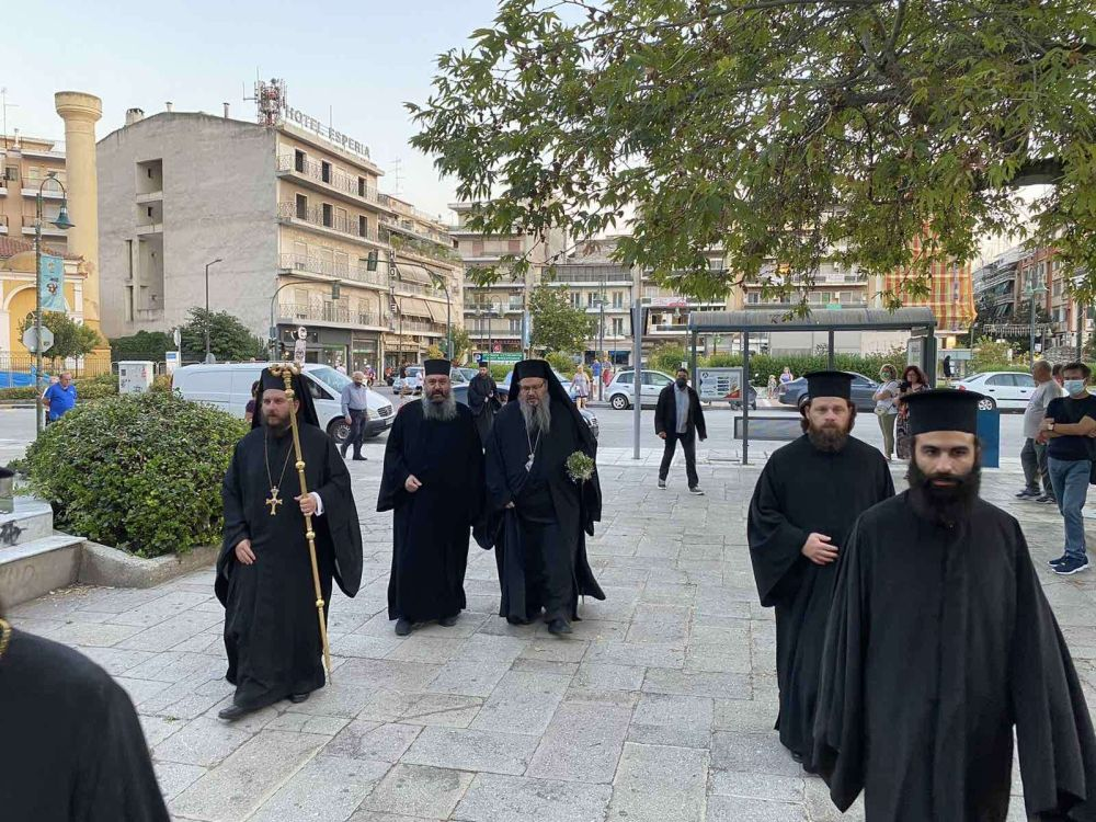 esp AgVissariona 2021 2 - Ο Πανηγυρικός Εσπερινός Του Αγίου Βησσαρίωνα Στη Λάρισα