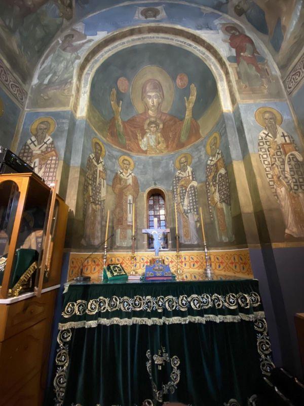 esp AgVissariona 2021 4 - Ο Πανηγυρικός Εσπερινός Του Αγίου Βησσαρίωνα Στη Λάρισα