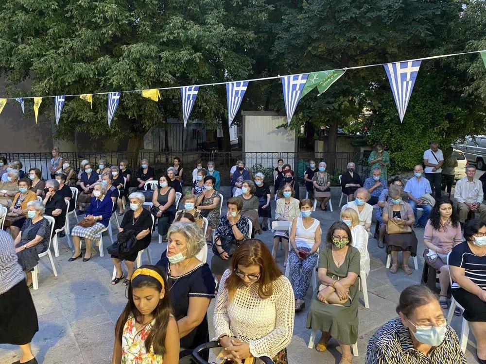 esp AgVissariona 2021 5 - Ο Πανηγυρικός Εσπερινός Του Αγίου Βησσαρίωνα Στη Λάρισα