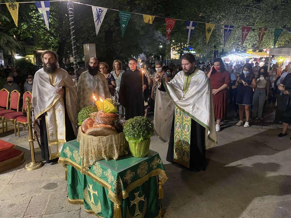 esp AgVissariona 2021 8 - Ο Πανηγυρικός Εσπερινός Του Αγίου Βησσαρίωνα Στη Λάρισα