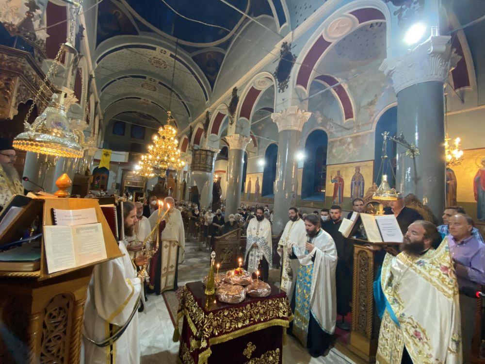 esp genesio 2021 2 - Ο εσπερινός του Γενεθλίου της Θεοτόκου στον Τύρναβο (φωτο)